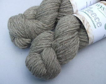 British Blueface Leicester Aran. Natural Latte