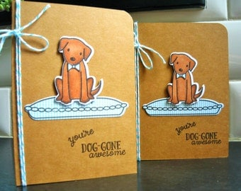 Dog Thank You Card, Doggy Birthday Card, Dog Lover Card