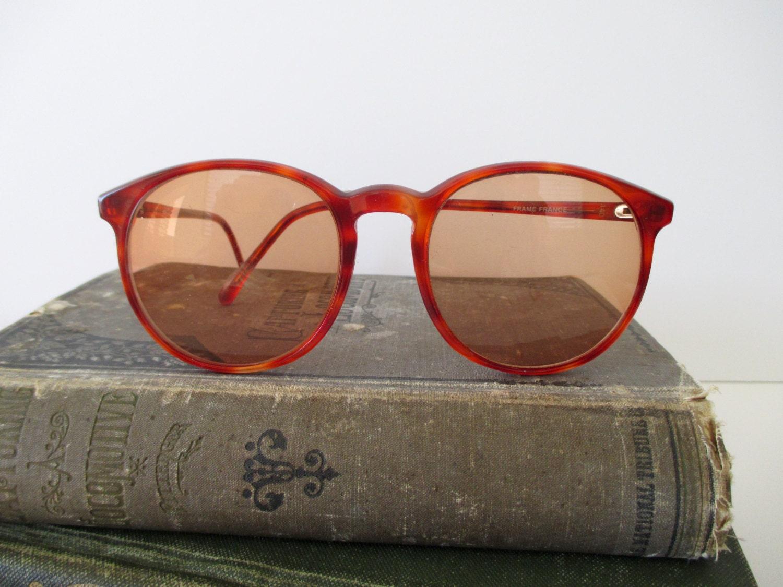 Large Frame Tortoise Shell Glasses : vintage large tortoise shell eyeglasses frames by TrunkGypsies