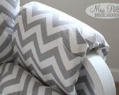Custom Chair Cushions/ Glider Cushions/ Glider Replacement Cushions  ADD Arm Rests