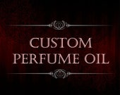 Custom Perfume Oil - Create Your Own Scent - Amber Glass Perfume Bottle - Create Your Own Perfume
