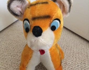 Vintage Plush Tiger Toy