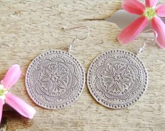 Thai Hilltribe Ornaments - The Lovely Silver Earrings (4)