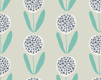 Curiosities KNIT Candied Lollies in Mint, Jeni Baker, Art Gallery Fabrics, Cotton and Spandex Fabric, K-29139