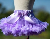 SALE - Picture Perfect Pettiskirts in Lavender, Red or Royal Blue