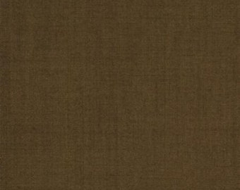 French General Solid Repro Brown - Moda