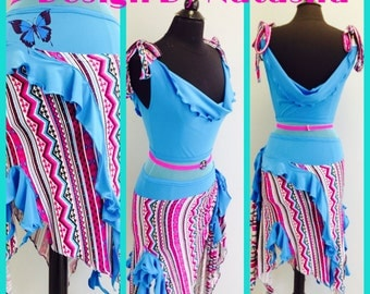 ACT FAST!  Only one in my shop Practice Dance wear        Practice Latin Dance Dresses        Dance Dress for Dance  Practice