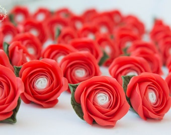 Red Rose Wedding bridal gifts for guests Birthday party magnets favors rustic Wedding favours ideas Wedding shower party favors unique favor