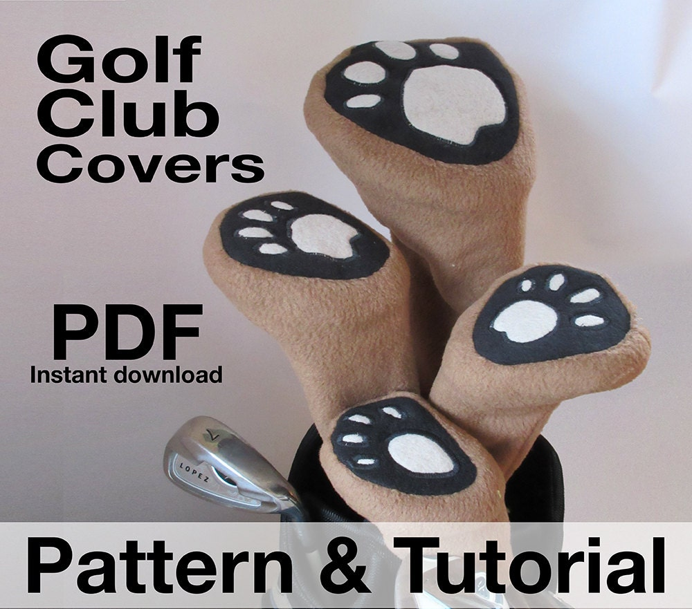 Golf club head covers sewing pattern classic styling pdf zoom bankloansurffo Gallery