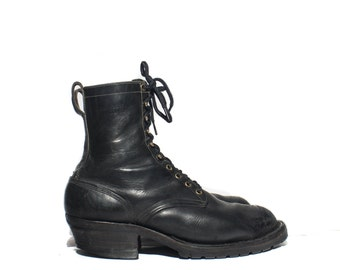 11 1/2 D | Whites Hathorn Spokane Boots Modified Lace Up Electrical Hazard Boots