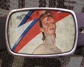 Ziggy Stardust Belt Buckle, David Bowie Buckle 555