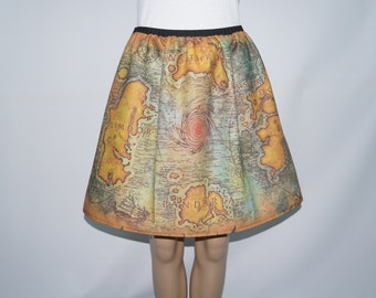 WoW inspired full skirt-  made to order
