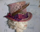 Top hat mad hatter steam punk secret garden party style