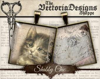 Shabby Chic Images - 1 inch square / Scrabble Tile - VDSQSC0103