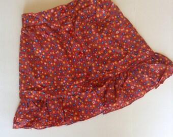 1970's Calico Skirt (5/6)