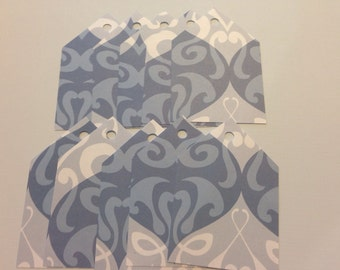 Blue Tags - Set of 10