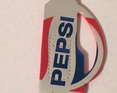 Golf Clubs Magnet Made From Upcycled Pepsi Soda Can