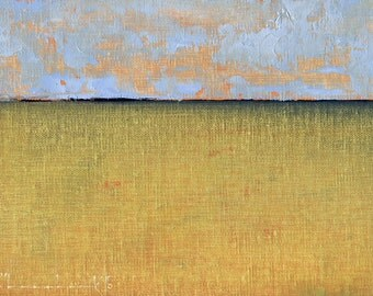 A Day Quiet  — Original Oil Painting, Landscape Painting, Abstract Landscape, Original Painting, Abstract Oil Painting, Fine Art, 5 x 7