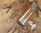 DIY Witch Bottle Kit no2 - witchcraft ingredients jar wicca pagan cunning craft ritual wiccan witchbottle