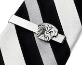 Bulldog Tie Clip - Tie Bar - Tie Clasp - Business Gift - Handmade - Gift Box Included