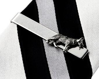 German Shepherd Tie Clip - Tie Bar - Tie Clasp - Business Gift - Handmade - Gift Box Included