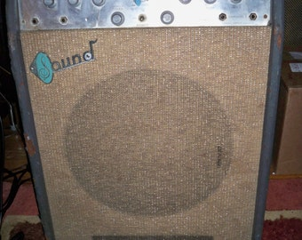 Price Lowered 20 %! + Free Shipping!  Vintage Working 1960's Sound Electronics Corp. X305 Tube guitar Amp