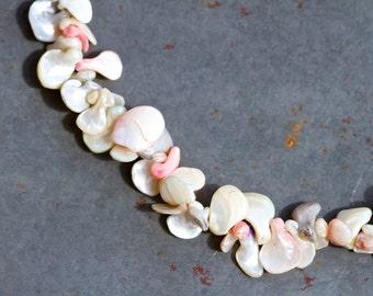 Sea Shells Boho Short Necklace - Gypsy Mermaid