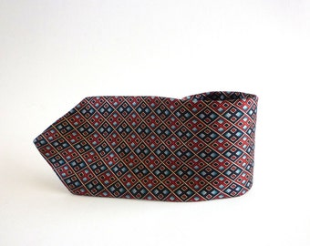 Silk Necktie, Oscar de la Renta Couture Silk Necktie, Men's Neckwear