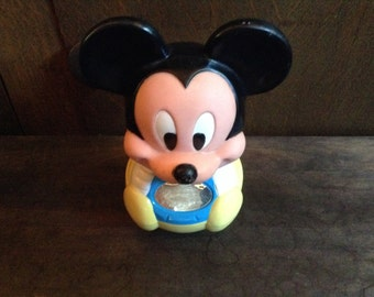 Vintage Disney Mickey Mouse Rolly Polly