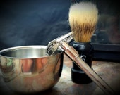 Gentleman's Essentials Shaving Kit - All the tools you need for the perfect shave from Skin Candy Soap Co.