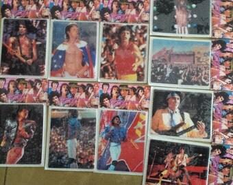 Rare Rolling Stones Puff Stickers 1983