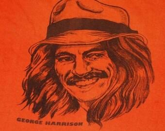George Harrison Shirt  1970s vintage
