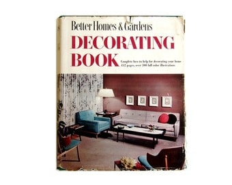 1956 Better Homes and Gardens Decorating Book 5 Ring Binder Eames