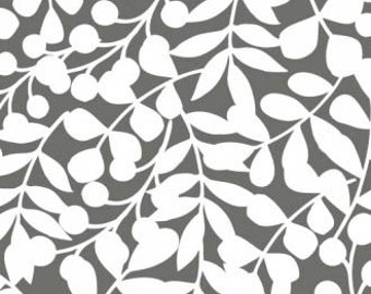 First Light CANVAS - Branch Gray Canvas by Eloise Renouf from Cloud9 Fabrics