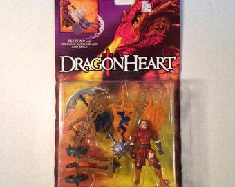 1995 DragonHeart action figure, Felton, NIP