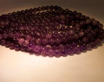 Beautiful Amethyst Beads 8mm Beautiful! 16 inch stings, lovely range of tones