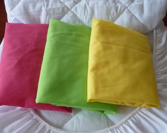 Bassinet Fitted Sheets x 3 and Protector Pack