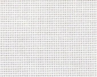 Fabric Aida 14 count White 1 meter