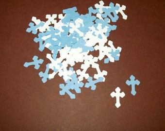 Cross Confetti/ Baby Shower/ Baptism/ Birthday/ Party 100 Pieces