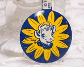 Elsie Borden Dairy Tin Pinback