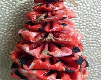 Red Poinsettia Tree Ornament
