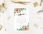 Instant Download - Sweetest Day Advice Cards