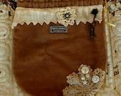 Boho Bag Gift Bag Hobo Bag Gypsy Bag Bohemian Bag Tote Recycled Upcycled #20