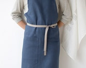 Kitchen Apron - Slate-Blue