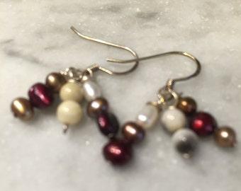 Pearl Dangle Earrings (EA26)