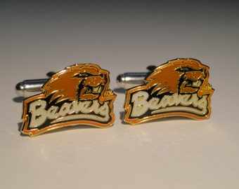 Oregon State Cufflinks--Authorized Cuff Links
