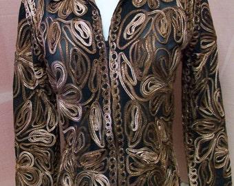 Vintage Casual Studios Ladies Dressy Jacket size S