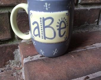 Personalized Monogram Coffee Mug