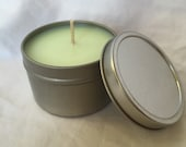 Juicy Pear ~ 8oz Travel Tin Candle