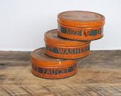 Vintage Duratex Faucet Washer Tins Set of 3